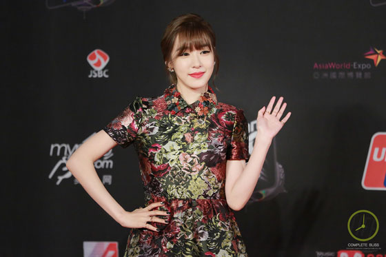 SNSD Tiffany MAMA 2014 Hong Kong