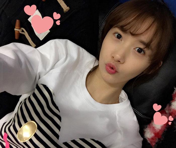 SNSD Yoona pangpang Chinese selca