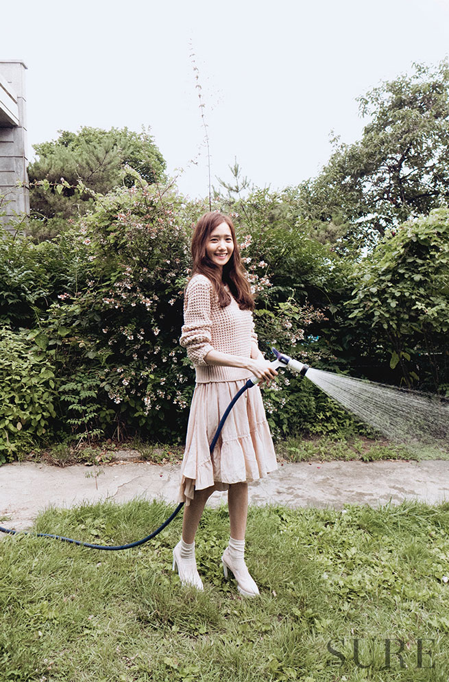 SNSD Yoona Korean Sure Magazine