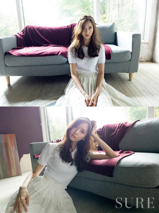 Yoona Sure Magazine