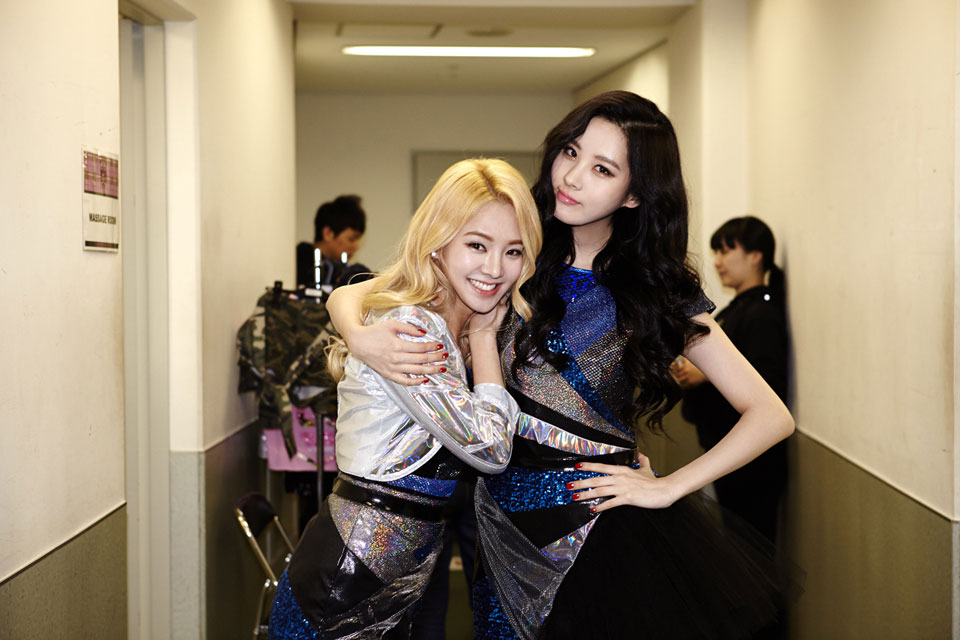 Hyoyeon Seohyun The Best Live at Tokyo Dome 2014
