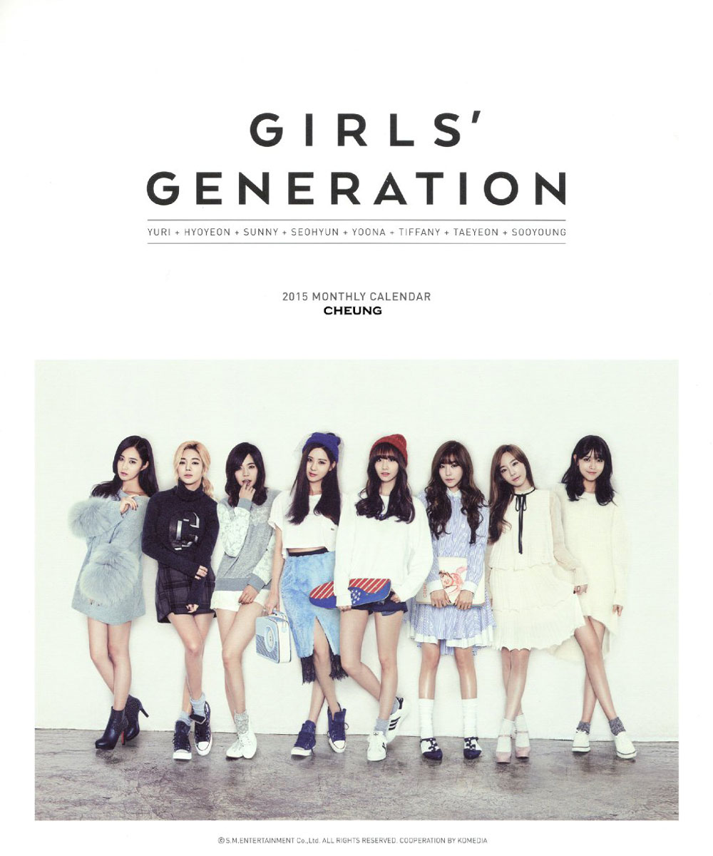 Girls Generation 2015 Season Greeting calendar