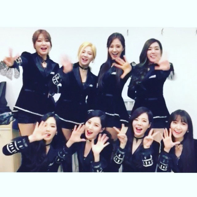 SNSD Hyoyeon Instagram new year 2015