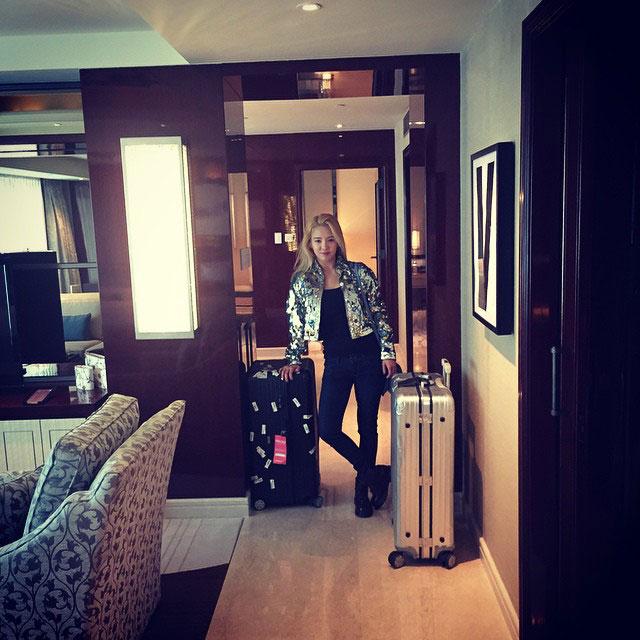 SNSD Hyoyeon Instagram Sheraton Macau Hotel