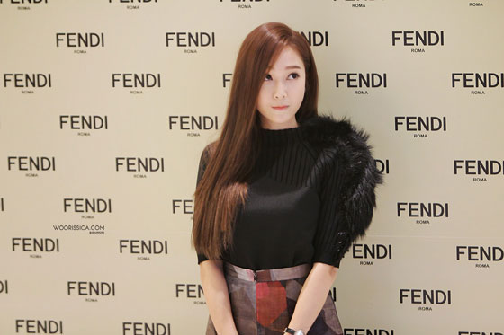 Jessica Jung Fendi event Seoul Lotte World Mall