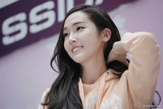 Jessica Jung Li-Ning fansign in Nanjing China