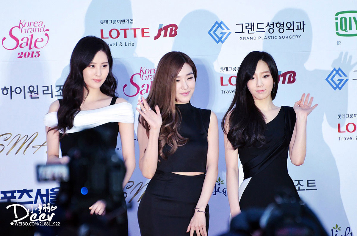 Girls' Generation-TTS Seoul Music Awards 2015