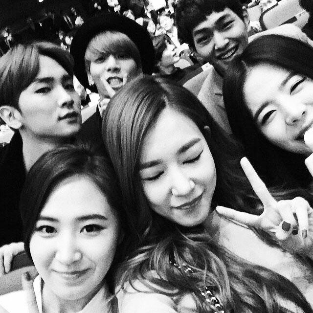 SNSD Sunny Instagram Tiffany Yuri SHINee