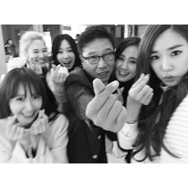 Girls Generation Lee Soo Man Instagram