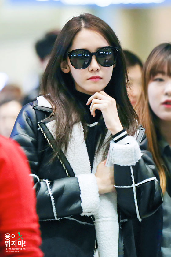 SNSD Yoona Incheon Airport fashion 150125