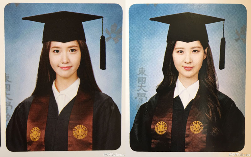 Yoona Seohyun Dongguk University 2015 Yearbook