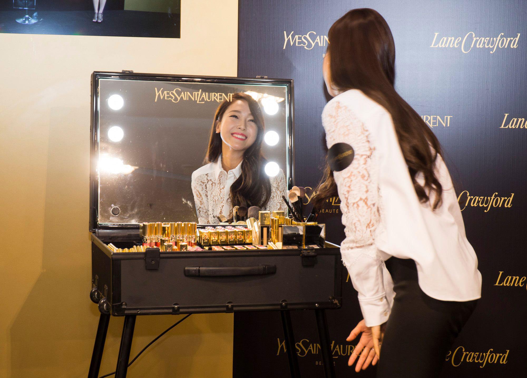 Jessica YSL Hong Kong x Google Glass