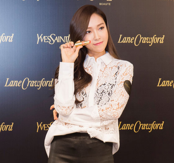Jessica Yves Saint Laurent Lane Crawford Hong Kong