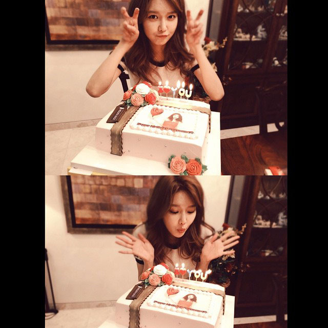 SNSD Sooyoung Instagram 2015 birthday