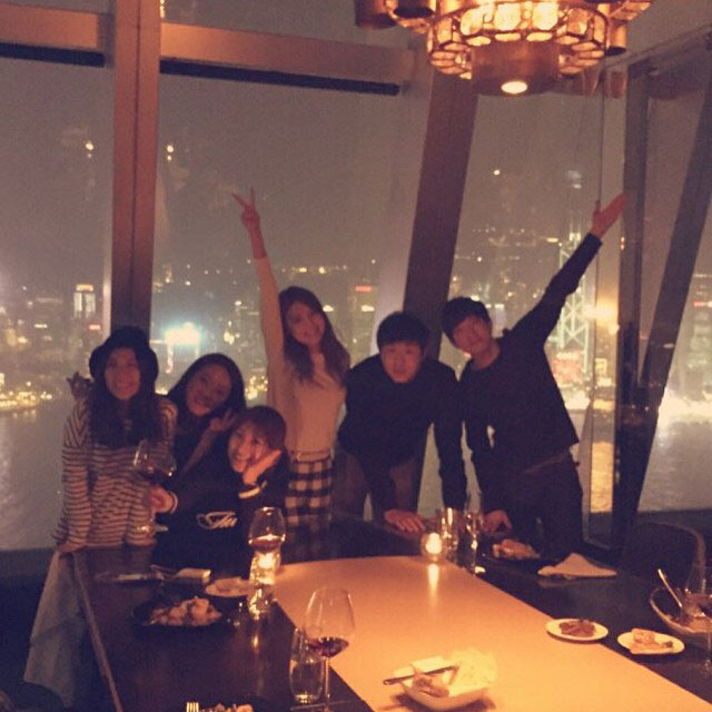 SNSD Sooyoung Instagram Hong Kong dinner