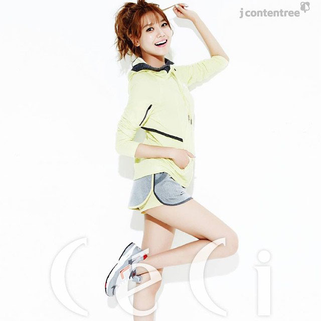 SNSD Sooyoung Instagram CeCi Magazine