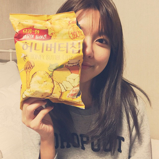 SNSD Sooyoung honey butter chips