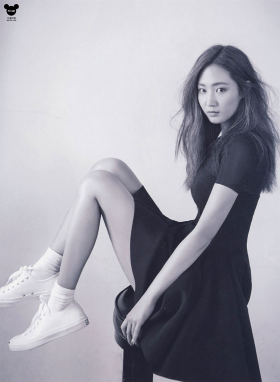 SNSD Yuri Korean NYLON Magazine