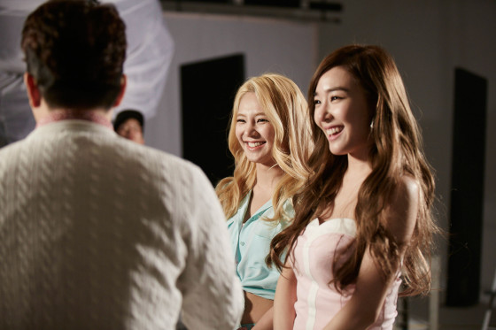 Girls Generation Casio 2015 behind the scene