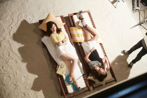 Girls Generation Casio 2015 behind the scene