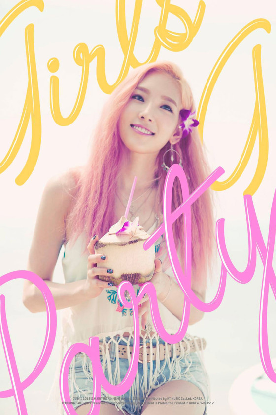 SNSD Taeyeon Party 2015 single album