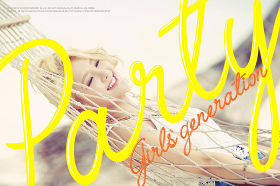SNSD Hyoyeon Party 2015 single album