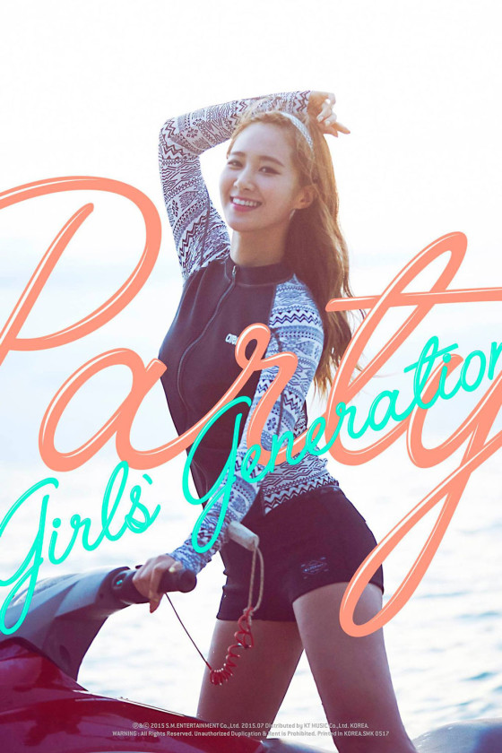 SNSD Yuri Party 2015 single album